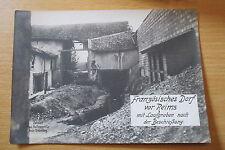 Destruction de la France à Reims Orig. Photo 17 x 12 MILITAIRE/POLITIQUE WK I