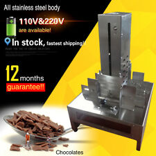 Chocolate/Chips Slicing machine/chocolate cutter machine with 3 free blade