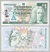Schottland / Scotland 1 Pound 1997 p359 unz.