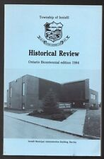 TOWNSHIP OF INNISFIL HISTORICAL REVIEW ONTARIO BICENTENNIAL EDITION 1984 Book