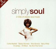 SIMPLY SOUL Various Artists NEW & SEALED 2X CD Classic Soul 60s 70s R&B