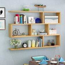 Bücherregal Wandregal 6 Fächer Aktenregal Raumteiler Aufbewahrungregal 3 Farben
