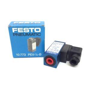 Pressure Switch 10773 Festo PEV-1/4-B