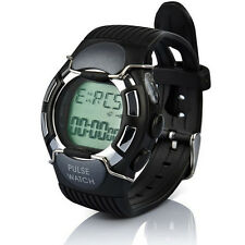 Waterproof Heart Rate Monitor Calorie Pulse Sport Watch With Colock NEW HOT Gift