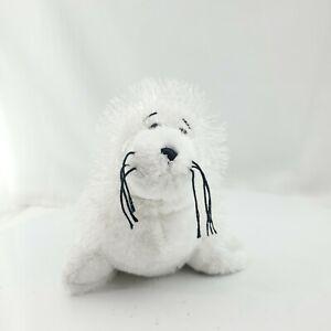 Webkinz Lil' Kinz White Furry Hairy Seal NO CODE