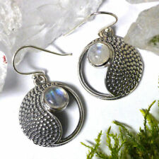 Handgefertigte Bewusstseins-Ohrschmuck ohne Steine aus echtem Edelmetall