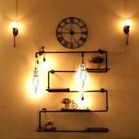 6W LED Glühbirne Wolfram Filament Edison Lampe Vintage Kronleuchter Ersatz Birne