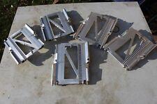 5 Piece Lot Aluminum Industrial Steampunk Repurpose Craft Art DIY