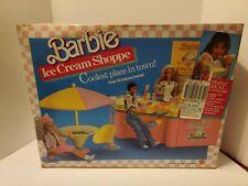 Vintage 1986 BARBIE Ice Cream Shoppe  Near Complete With Original Box