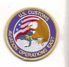 LEGACY US CUSTOMS AVIATION EAST Novelty Patch