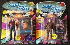 Star Trek The Next Generation Q Lore Action Figures NIB
