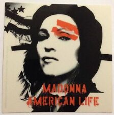 "Madonna American Life Sticker 4""x4"""