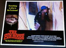Lobby Card~ THE FUNHOUSE ~child actor Shawn Carson ~Horror Clowns