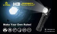 New XTAR H3 Cree XM-L2 U3 1000 Lumens LED Headlight Flashlight Torch ( 18650 )