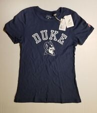 NCAA DUKE BLUE DEVILS WOMENS T-SHIRT TEE SMALL COLLEGE NWT *FAST SHIPPING*
