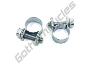 """Ducati 1/4"""" 6mm ID Fuel Injection Rated Gas Petrol Line Hose Clamp by Ideal"""