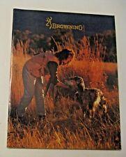 Nos Vintage 1990-91 Browning Gun + Catalog ~ See All Our Gun Shooting Catalogs