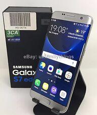NUOVO SAMSUNG GALAXY S7 bordo DUAL SIM G935FD 32 GB Smartphone Sbloccato-Argento