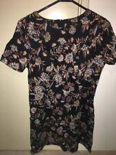 ASOS New Look Vintage Dark Paisley Floral Shift Dress 12