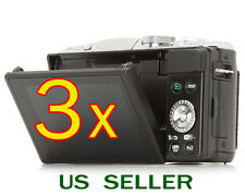 3x Clear LCD Screen Protector Guard Cover Film For Panasonic Lumix DMC-GF6