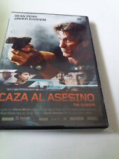 "DVD ""CAZA AL ASESINO"" COMO NUEVO PIERRE MOREL SEAN PENN JAVIER BARDEM"