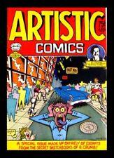 ARTISTIC COMICS #1 1973 1ST PRINTING, ROBERT CRUMB, KITCHEN SINK, UNDERGROUND CO