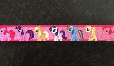 "1M Rosa My Little Pony Pinkie Pie rarità APPLEJACK nastro di seta grossa 7/8 "" 22mm"