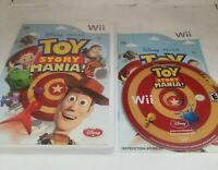 Toy Story Mania Game Nintendo Wii COMPLETE with manual CIB