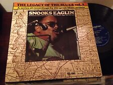 """SNOOKS EAGLIN - THE LEGACY OF THE BLUES VOL 2 -  12"""" LP SPAIN BLUES"""