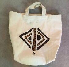 Scs Swarovski Crystal Canvas Tote Bag
