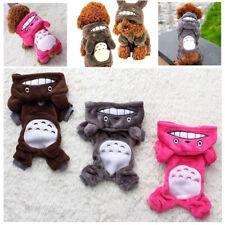 Cute Totoro Dog Hoodie Cartoon Cosplay Pet Plush Puppy Coat Apparel Warm Costume
