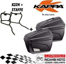 KTM ADVENTURE 950 990 2013 2014 KAPPA BAULETTI LATERALI K22N + KL650 STAFFE
