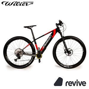 Wilier 101X Hybrid 2021 E-Mountainbike Schwarz Rot Glossy RG M Fahrrad Hardtail