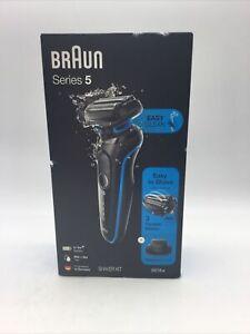 Braun Series 5 5018s Wet & Dry Shaver - Blue Brand New In Box