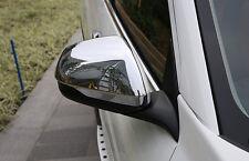 Side Door Mirror Cover Protector Trim Chrome 2PCS For Honda Vezel HR-V 2014-2017