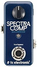 TC Electronic*SPECTRACOMP BASS*Bass Compression Effect Pedal FREE SHIP NEW
