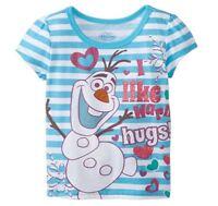 Disney Junior Girl's Frozen Olaf T-Shirt Elsa Let It Go 2T