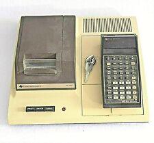 Taschenrechner TI-59 mit Thermodrucker PC-100C; extrem selten