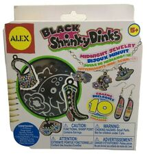 Nib Shrink Dinks Black Midnight Jewelry 2009 Alextoys