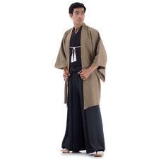 Japan Samurai Kimono Cosplay Kostüm Set Kendo Gi + Hakama Hose + Haori Jacke