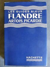 Guide bleu Flandre, Artois, Picardie, 1960