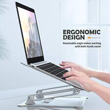 Adjustable Aluminium laptop desk stand riser for Laptop/Macbook/IPAD Pro/tablets