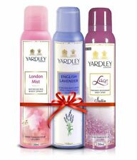 Yardley London -London Mist, English Lavender, Lace Satin Body Spray For Women