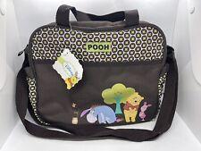 NEW!  Disney Mini Diaper Bag - Winnie The Pooh Baby Bag - Small Shoulder Bag