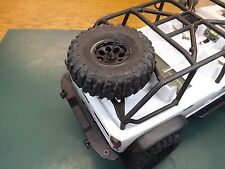 RCDM Spare Tire Rack For The Axial 2012 Jeep Wrangler SCX10 RC Rock Crawler body