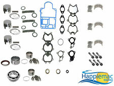 "Mercury 50 60 HP Powerhead Rebuild Kit 2.992"" 3 Cyl Piston Bearing Gasket 98-Up"