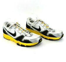 Men's Nike Airflex Trainer 429632-100 Size 15  White Silver Yellow Athletic Run
