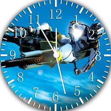Motor Cross Frameless Borderless Wall Clock Nice For Gifts or Decor W73
