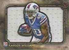 Karlos Williams 2015 Topps Valor jersey card VJR-KWI /300