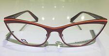 Alain Mikli Red Eyeglasses  A02003 M0JQ. Made In France. F/F